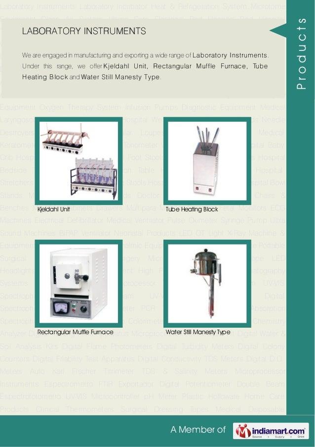 Laboratory Instruments By Atico Medical Pvt Ltd