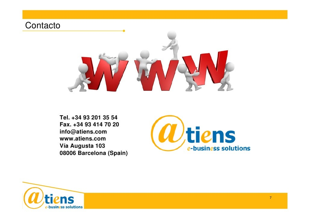 Contacto     Contacto           Tel. +34 93 201 35 54        Fax. +34 93 414 70 20        info@atiens.com        www.atien...