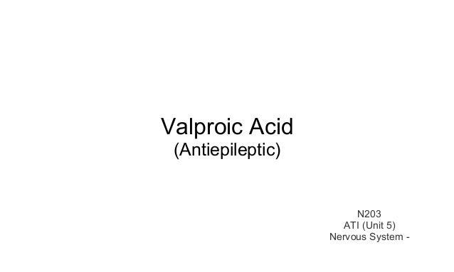 Valproic Acid Ati