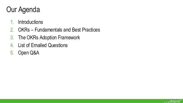 "Webinar slides with Paul Niven & Ben Lamorte ""OKRs: Best Practices from the Field"" Slide 2"