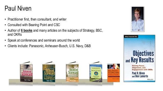 "Webinar slides with Paul Niven & Ben Lamorte ""OKRs: Best Practices from the Field"" Slide 3"