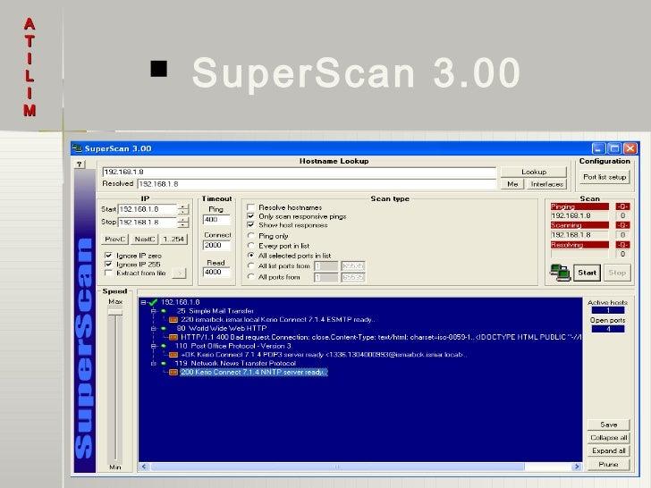 AT        SuperScan 3.00IL   IM