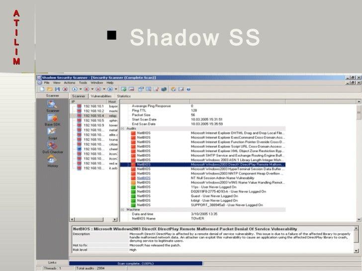 ATILI       Shadow SSM