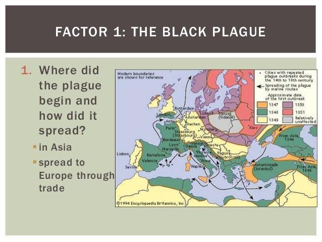 How is plague spread?