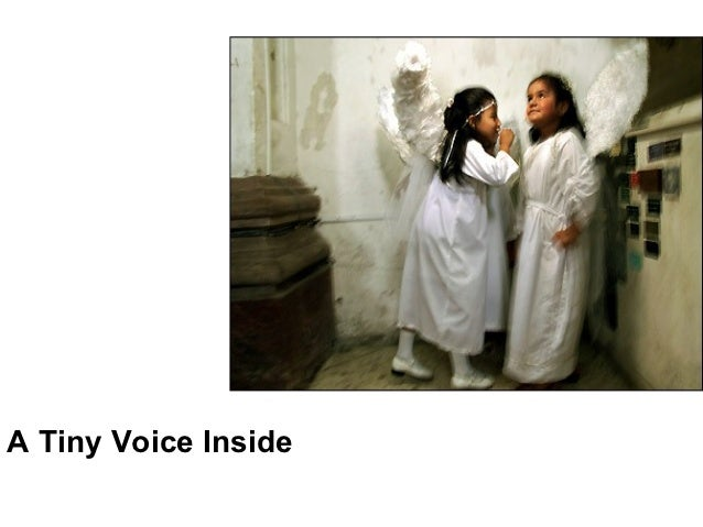 A tiny voice inside Slide 2