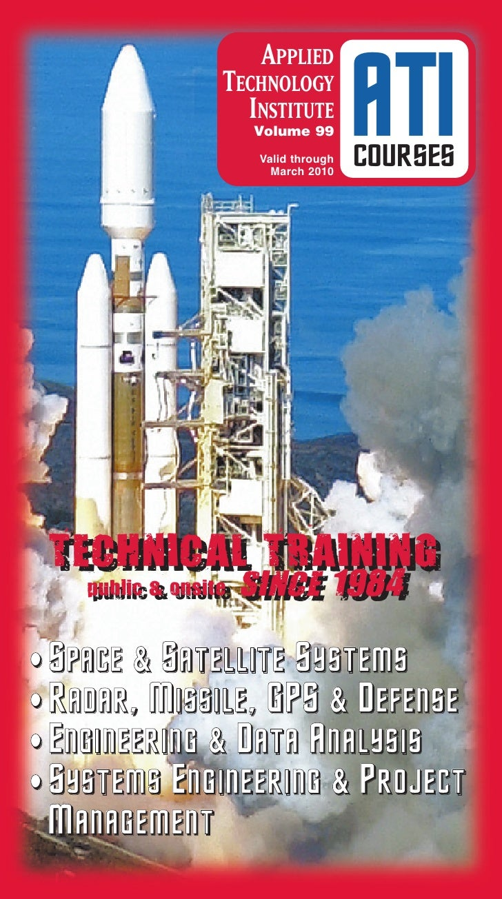 APPLIED                   TECHNOLOGY                     INSTITUTE                       Volume 99                        ...