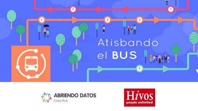 Atisbando el bus