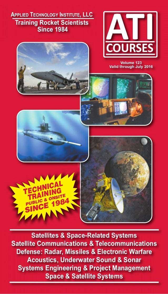 Ati Space Satellite Radar Defense Systems Engineering Acoustics