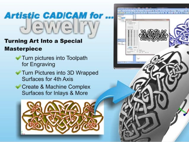 Artistic CAD-CAM Software for Custom Woodworking, CNC Routing & More