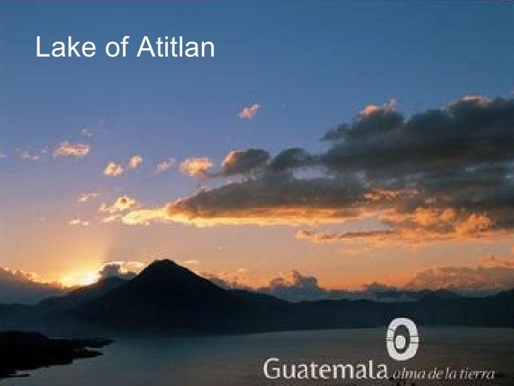 Lake of Atitlan