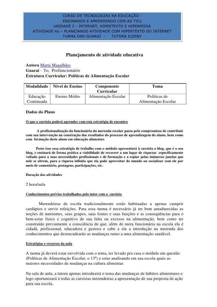 CURSO DE TECNOLOGIAS NA EDUCAÇÃO -                                                                      ENSINANDO E APREND...