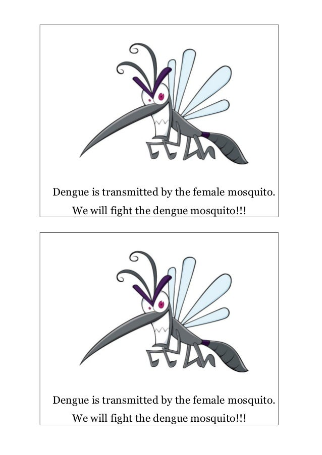 Dengue is transmitted by the female mosquito.   We will fight the dengue mosquito!!!Dengue is transmitted by the female mo...