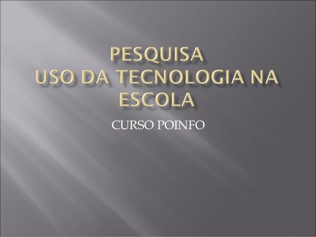 CURSO POINFO