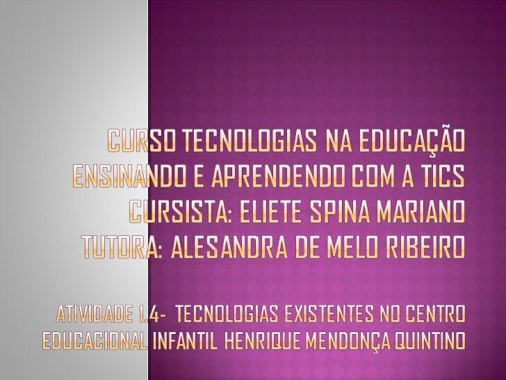    Na educação, as tecnologias têm uma função    de grande relevância, auxiliam na mediação    pedagógica, aumentam a int...
