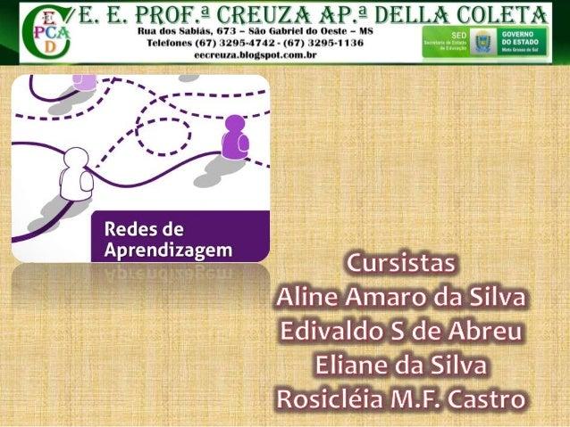 PROF. ? CREIJZA AP.  â D ELLA oo LEIA  Rua dos Sabiás,  673 - São Gabriel do Oeste - MS _m ' t» _ __ íuúõl_ * ' Telefones ...