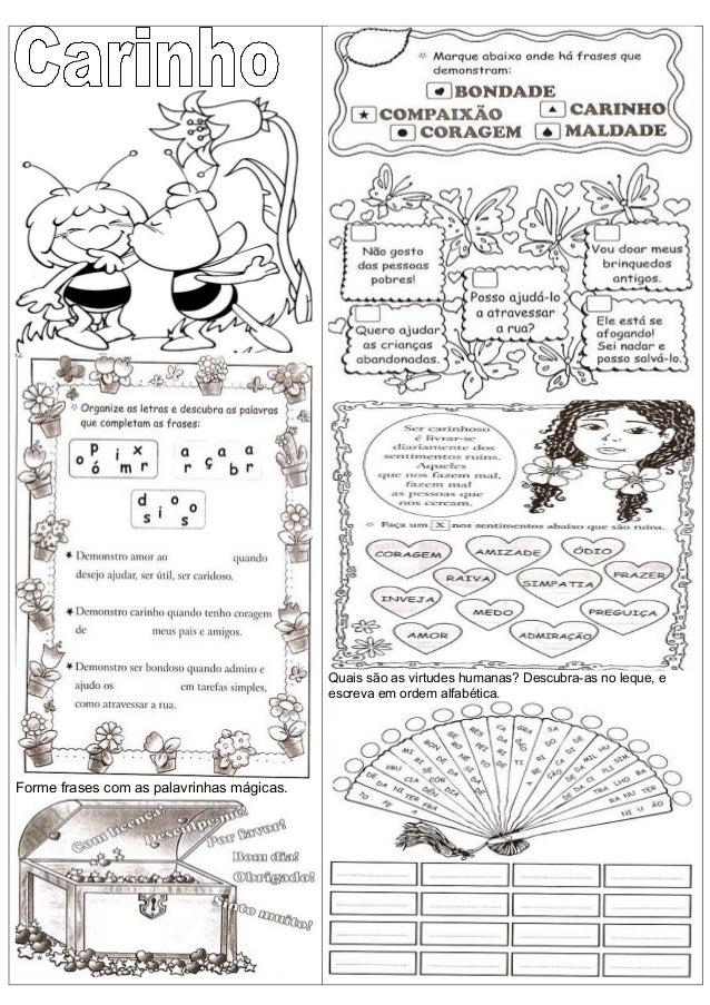 Super Atividade ensino religioso carinho UU46