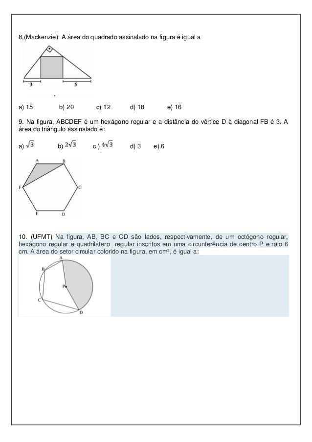 Atividade mat 8 bc dia 30 for Um losango e interno a uma circunferencia de 6cm de raio