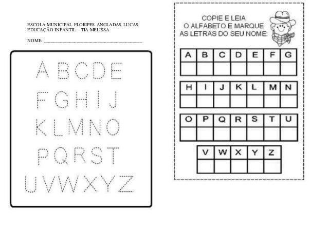 Suficiente Atividades alfabeto BG32