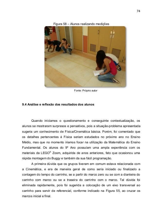 Contextualização e situação geradora de aprendizagem 9