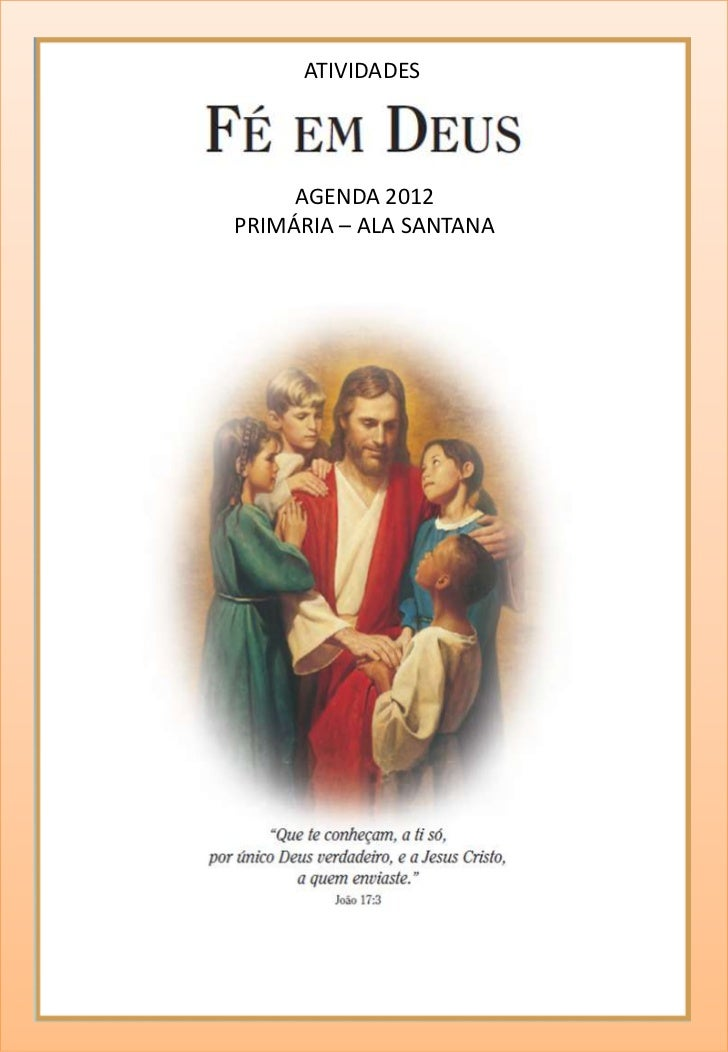 ATIVIDADES     AGENDA 2012PRIMÁRIA – ALA SANTANA
