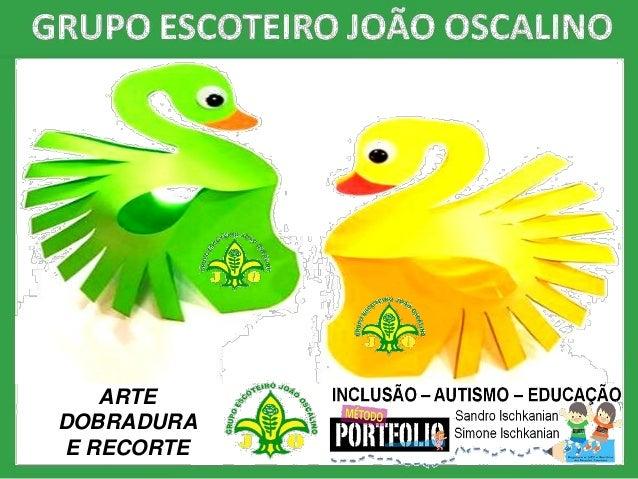 ARTE DOBRADURA E RECORTE
