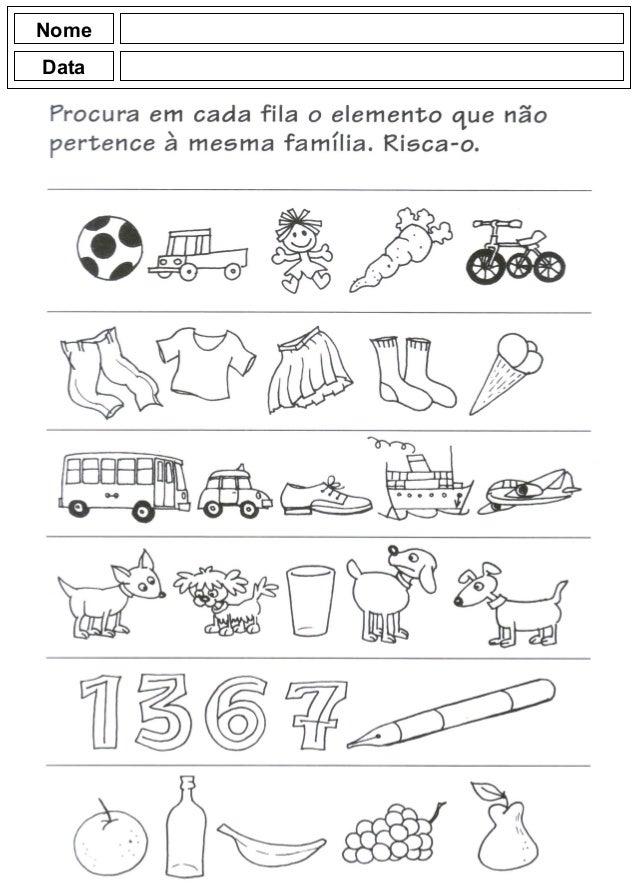 Populares Atividades para o jardim de infância TT71