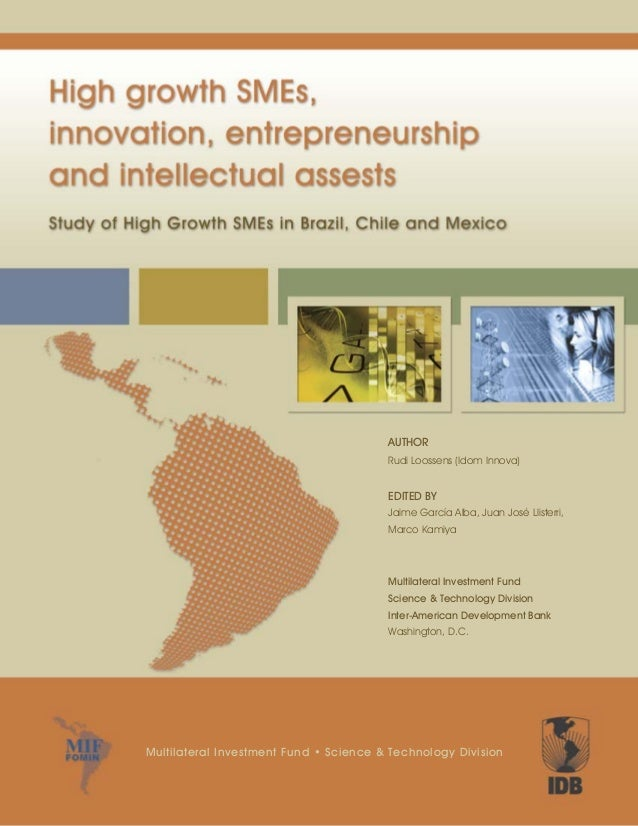AUTHOR Rudi Loossens (Idom Innova) EDITED BY Jaime García Alba, Juan José Llisterri, Marco Kamiya Multilateral Investment ...