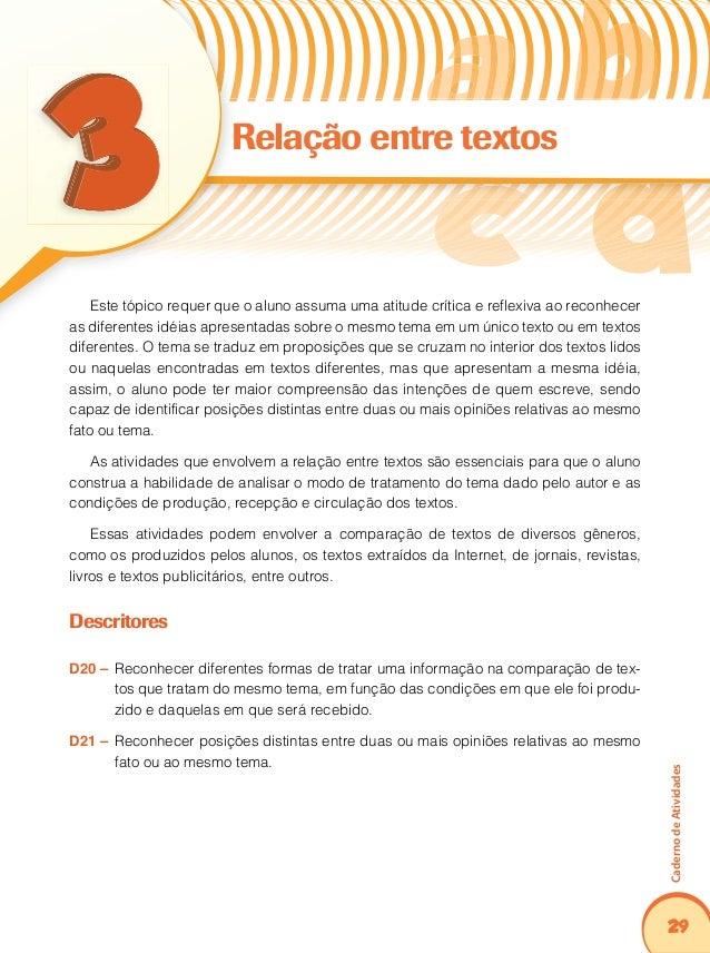 33 CadernodeAtividades Coerência e coesão no processamento do texto Encontramos nesse item os elementos que constituem a t...