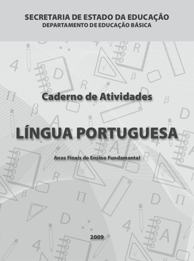 Preferência Atividades de português para 3º ano fundamental VM16