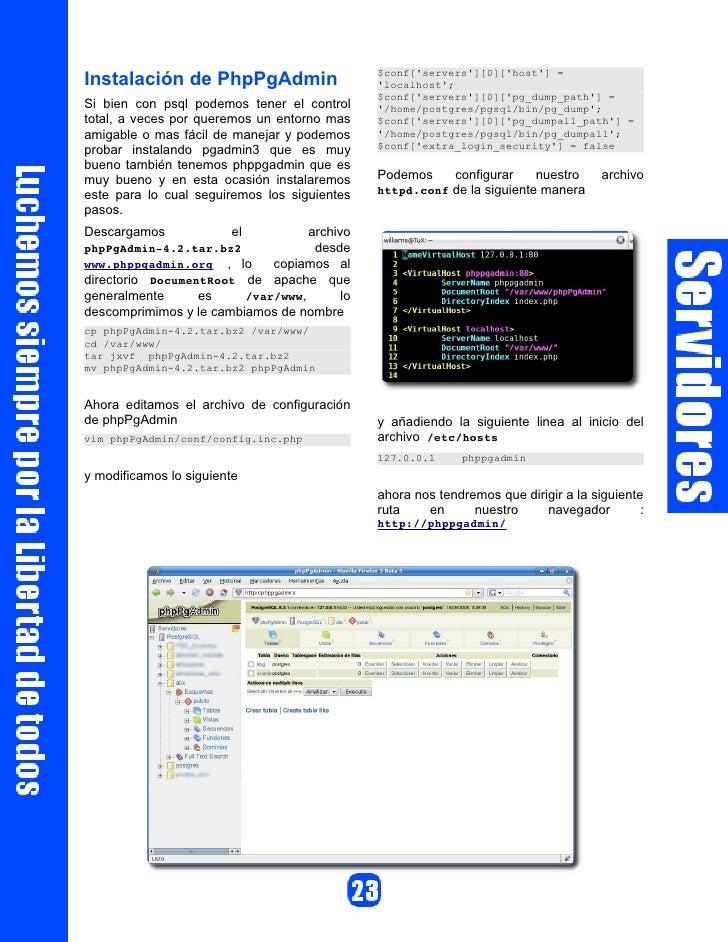 OpenOffice - Base                                      Libre.                                                     6. Conoc...