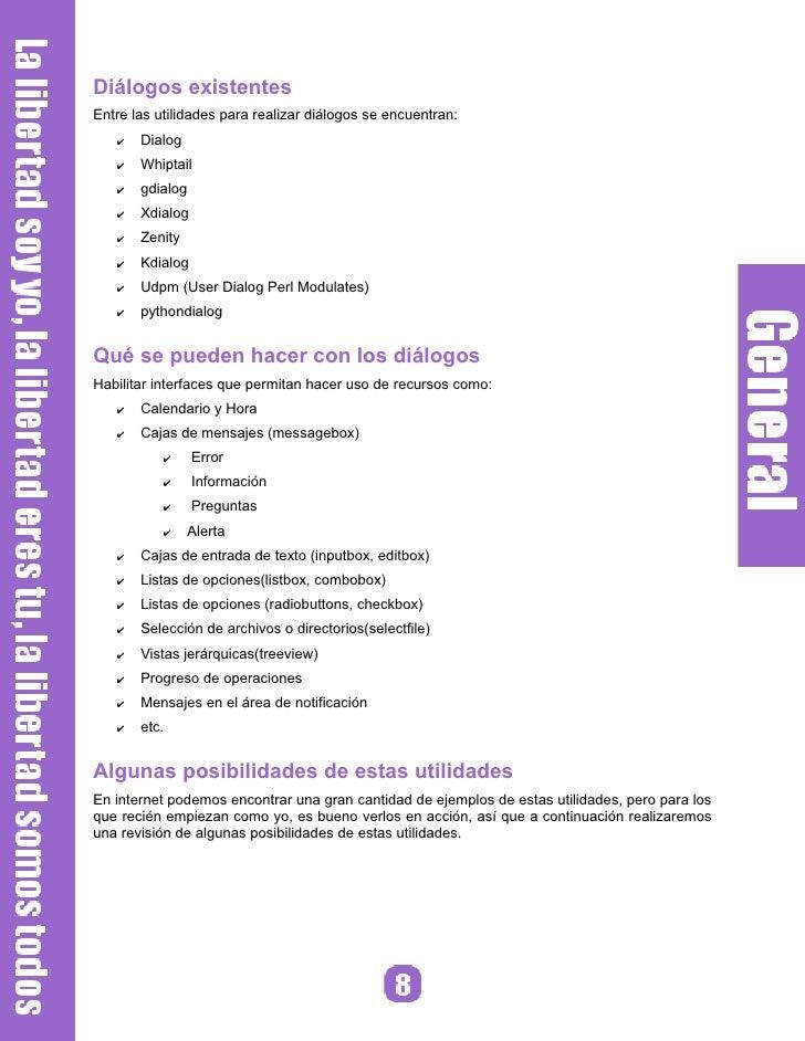 Zenity Rango de valores                                 Progreso de operaciones     zenity --scale --title quot;Escalaquot...