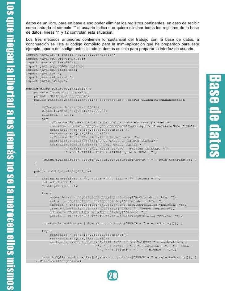 Gráfico 4. Insertando registros a la base de datos. Después de haber agregado registros a la base de datos es posible que ...