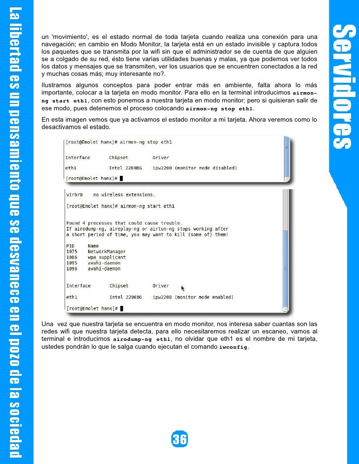 Por último nos debe salir: Sending Authentication Request Authentication successful Sending Association Request Associatio...
