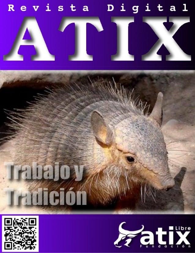 Distribuido bajo:2013 - Bolvia                http://revista.atixlibre.org                                     Twitter: @a...