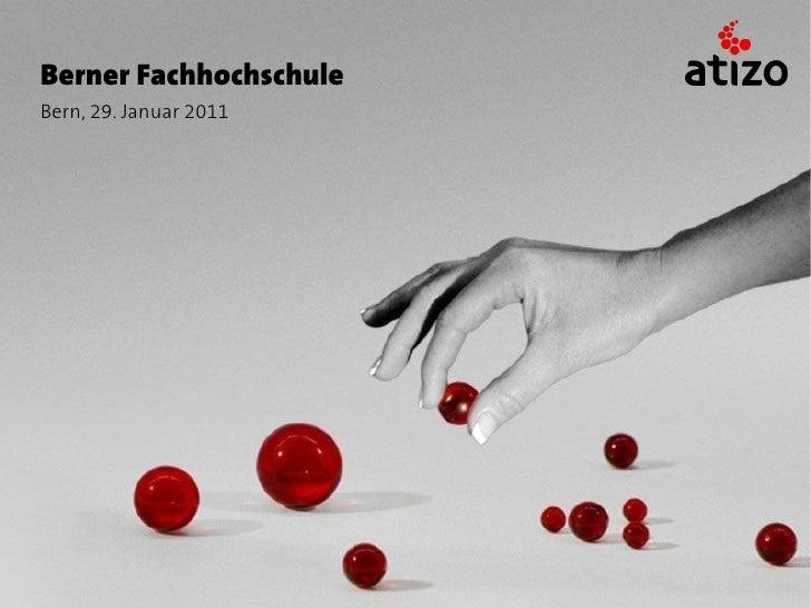 Berner FachhochschuleBern, 29. Januar 2011