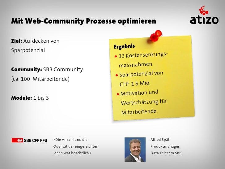 Mit Web-Community Marketingideen findenZiel: Ideen für 150-Jahre Jubiläum                                                E...