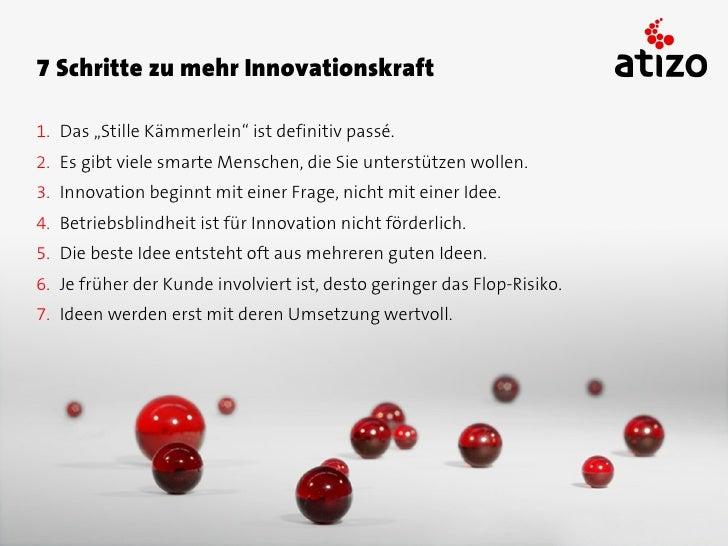 Innovation ist kein Kreativitätsproblem,    sondern ein Allokationsproblem.               - Vielen Dank -