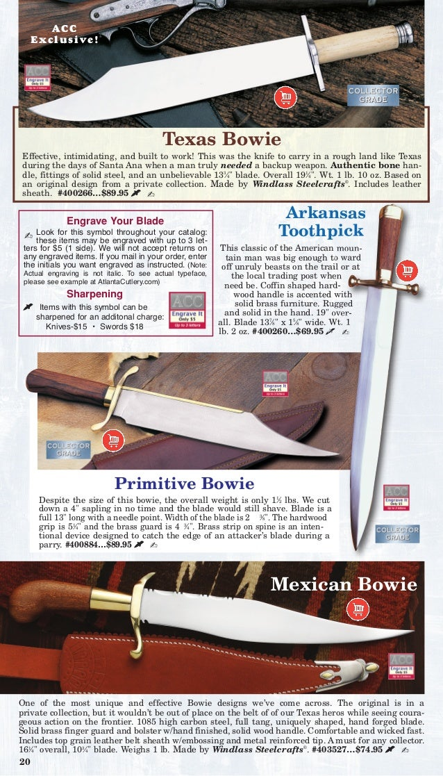 Atlanta cutlery: Historically Accurate and Battle Worthy Weapons