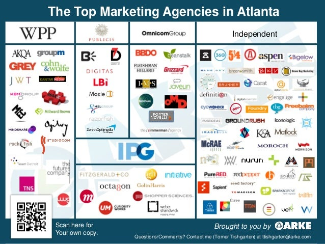 The Top Marketing Agencies in Atlanta                                                          Independent Scan here for  ...