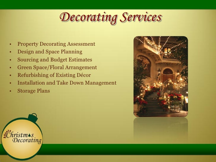 decorating services - Christmas Decorating Services