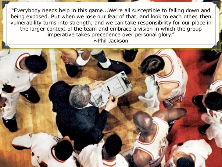 """""""Everybody needs help in this game...Were all susceptible to falling down andbeing exposed. But when we lose our fear of t..."""