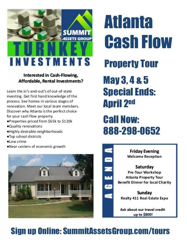 Atlanta                                             Cash Flow                                             Property Tour   ...