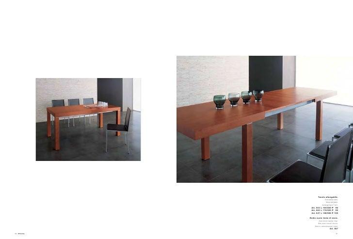 Tavolo Color Ciliegio Allungabile.Catalogo Tommasella Atlante Zona Giorno Ciliegio