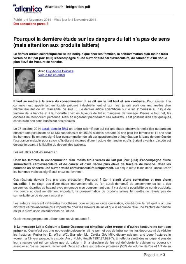Atlantico.fr - Intégration pdf  Publié le 4 Novembre 2014 - Mis à jour le 4 Novembre 2014  Des sensations pures ?  Pourquo...