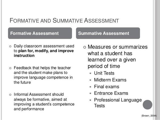 advantages and disadvantages of summative assessment pdf