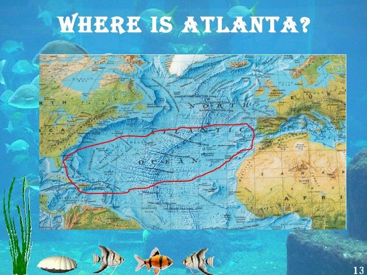 Atlantis - Where is atlanta