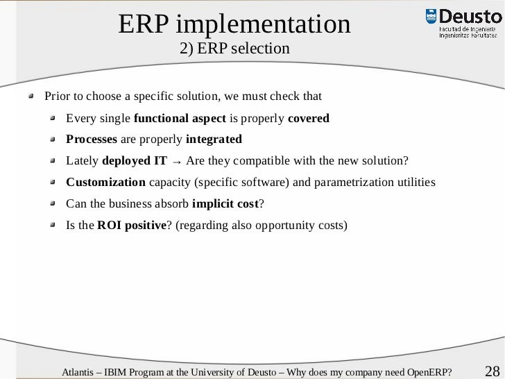"""e r p implementation problems According to helo et al(2008), """"unlike other information systems, the major  problems of erp implementation are not technologically related."""
