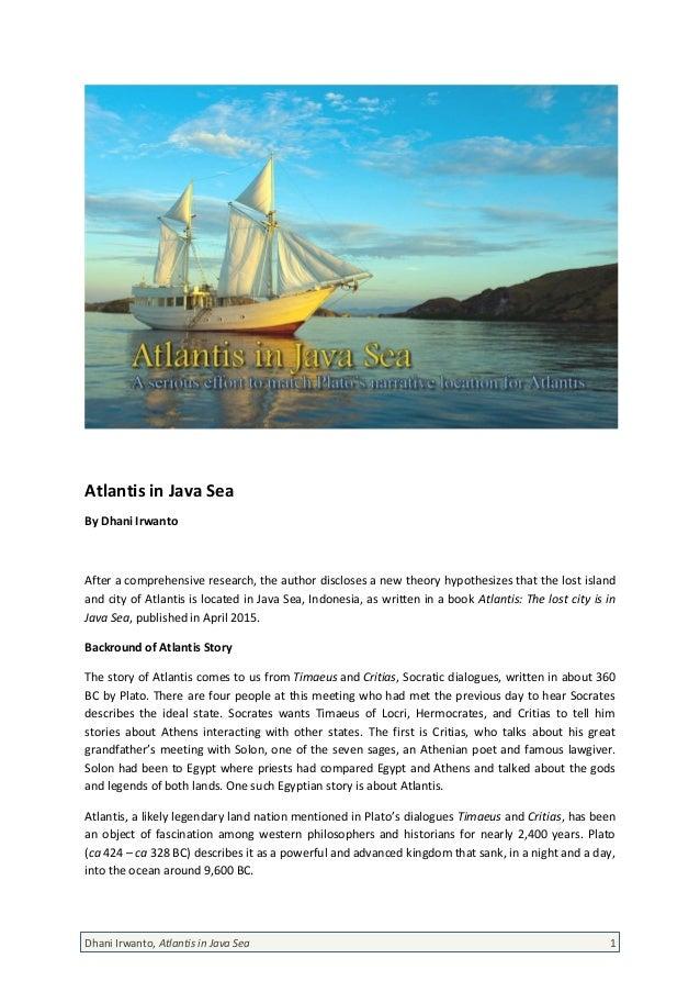 atlantis in java sea