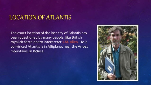 exact location of the lost city of atlantis