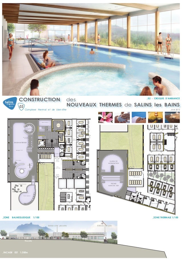 Concours centres thermaux for Salins les thermes piscine
